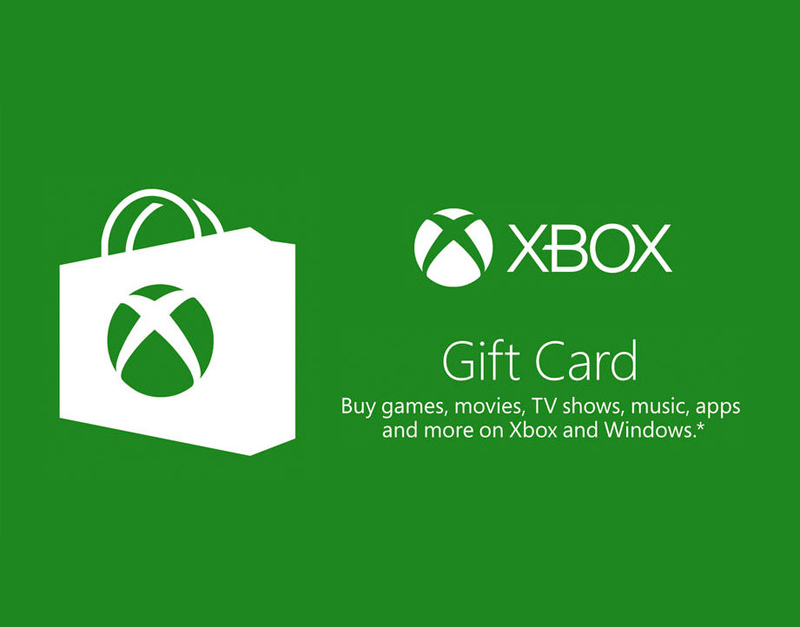 Xbox Live Gift Card, The Old Couldron, theoldcouldron.com
